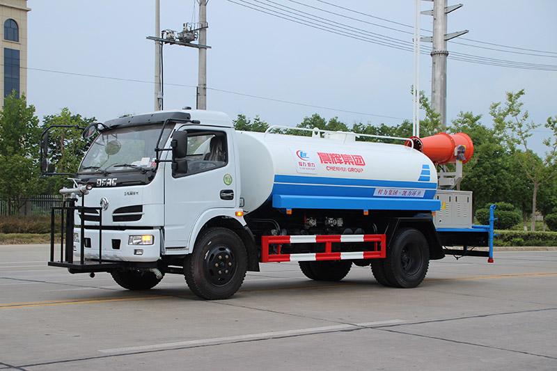 东风8.5方(吨)喷洒抑尘车