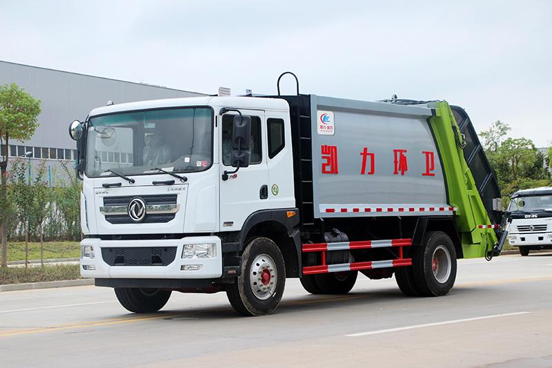 东风D9-压缩式垃圾车